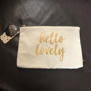 """Hello Lovely"" Cosmetics Bag"